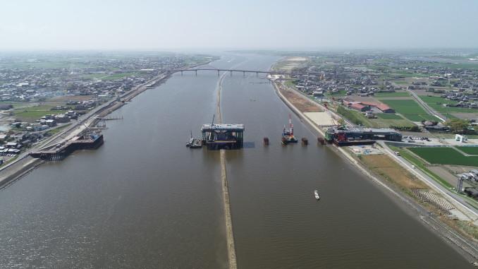 有明海沿岸道路筑後川橋