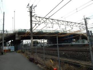 橋景流山街道跨線道路橋