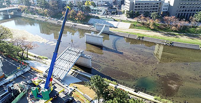乙川人道橋