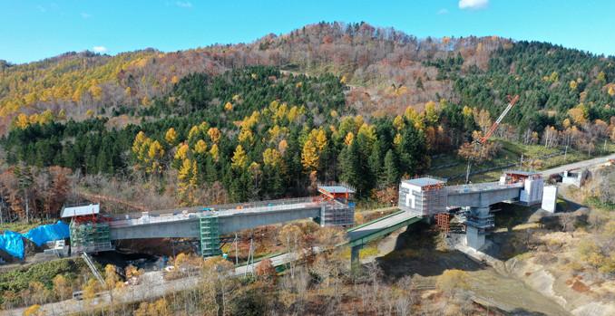 桂沢ダム7号橋