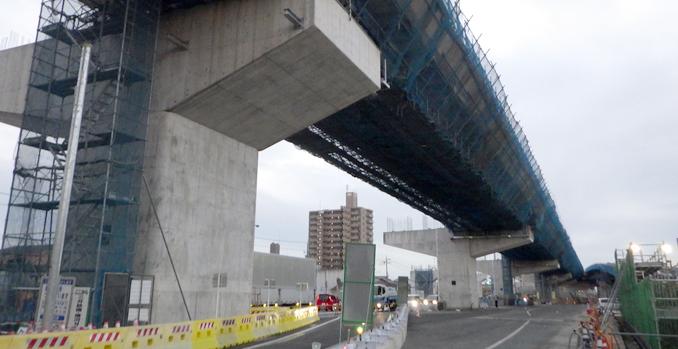 西蟹田第三高架橋