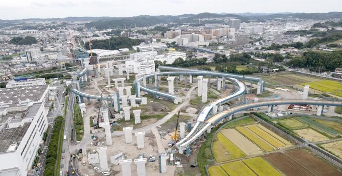 栄IC・JCTランプ橋7橋